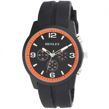 Henley Mens Moulded Silicon Sports Watch