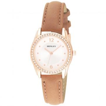 Women's Small Diamante Fashion Strap Watch