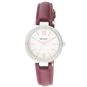 Women's Classic Diamante Strap Watch