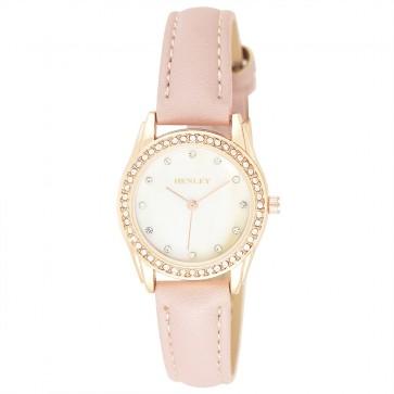 Women's Diamante MOP Watch