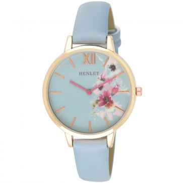 Pink Floral Watch