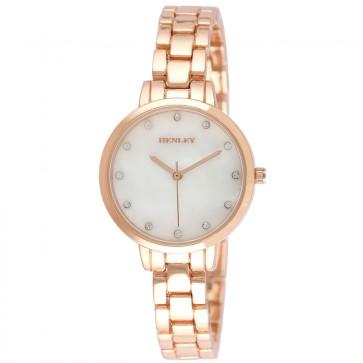Henley Ladies Fashion MOP Bracelet Watch