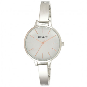 Modern Index Half Bangle Watch