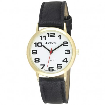 Men's Classic Bold Easy Read Strap Watch