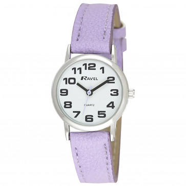 Women's Classic Bold Easy Read Strap Watch - Small