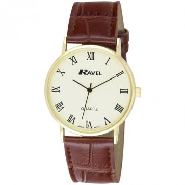Men's Classic Dial Strap Watch