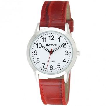 Men's Classic Croco Strap Watch
