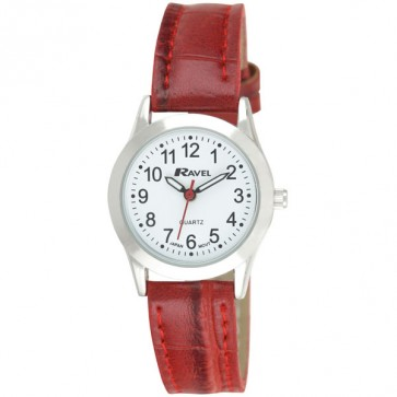 Women's Classic Croco Strap Watch