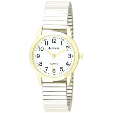 Ravel Ladies Classic Expander Bracelet Watch