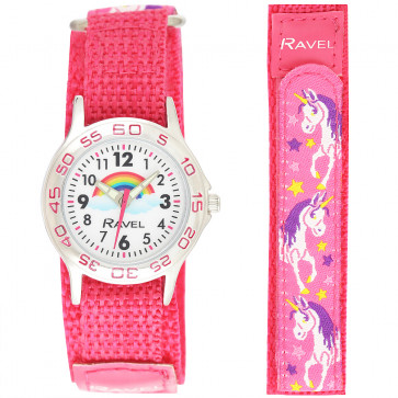 Kids Easy Fasten Unicorn Watch