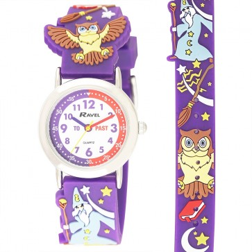 Kid's Cartoon Time Teacher Watch - Wizard