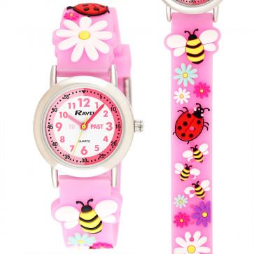 Kid's Cartoon Time-Teacher Watch - Bee
