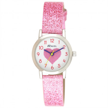 Girl's Sparkle Glitter Watch