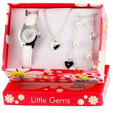 Little Gems - Heart Celebration White