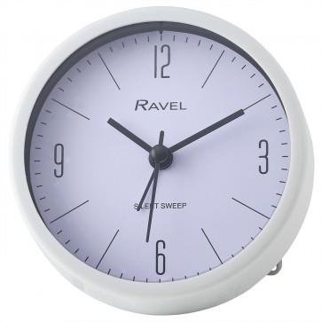 Quartz Plastic Round Alarm Clock