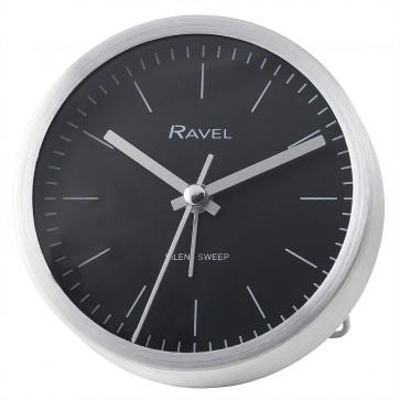 Quartz Metal Minimal Round Alarm Clock