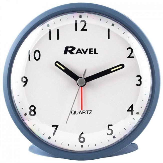 Quartz Modern Print Alarm Clock (RC015) by Timesource