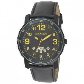 Henley Mens Fashion Day-Date Watch