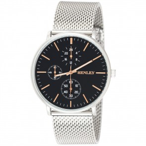 Henley Mens Fashion Mesh Bracelet Watch