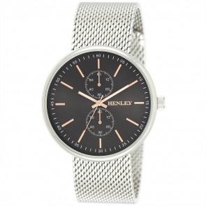 Men's Mesh Bracelet Front Loader Watch