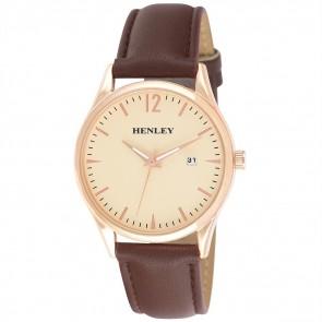Henley Mens Minimal Calendar Watch