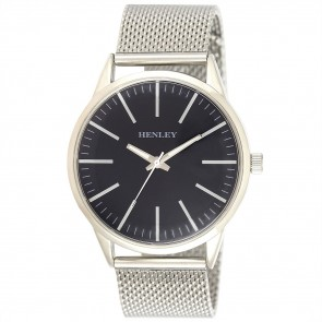 Men's Contempory Index Mesh Watch