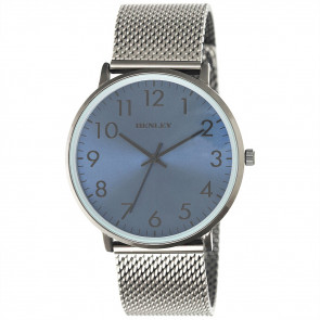 Contemporary Numbered Mesh Watch