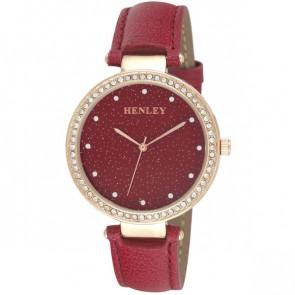 Henley Ladies Leather Fashion Strap Watch