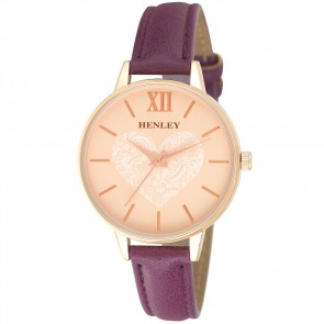 Henley Ladies Fashion Heart Watch