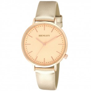 Henley Ladies Fashion Angled Crown Watch