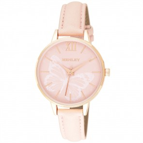 Henley Ladies Fashion Butterfly Print Watch