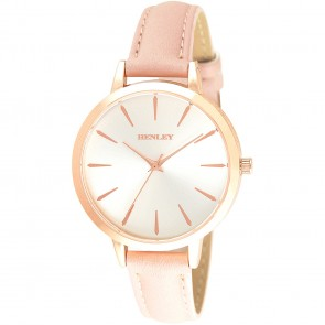 Women's Minimal Sun-ray Strap Watch