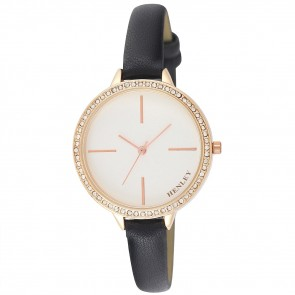 Women's Diamante Feature Logo Watch