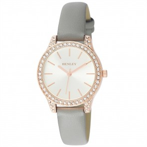 Women's Diamante Strap Watch
