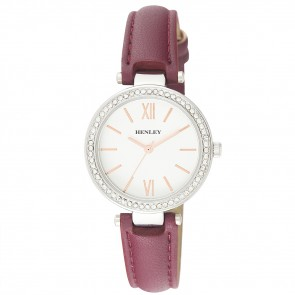 Women's Classic Diamante Strap Watch