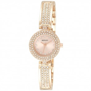 Women's Diamante  Bangle Watch