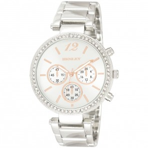 Women's Diamante Multi Dial Bracelet Watch