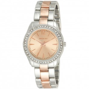 Women's Diamante Two-Tone Bracelet Watch