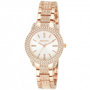 Women's Bling Diamante Bracelet Watch