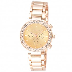 Women's Diamante Sports Bracelet Watch