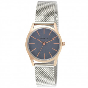 Women's Two-Tone Mesh Bracelet Watch