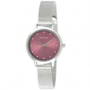 Henley Ladies Fashion Mesh Bracelet Watch