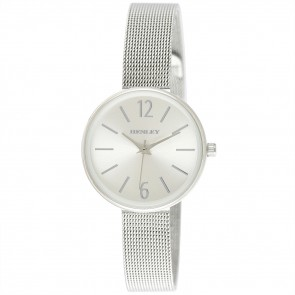 Women's Minimal Shoulderless Mesh Bracelet Watch
