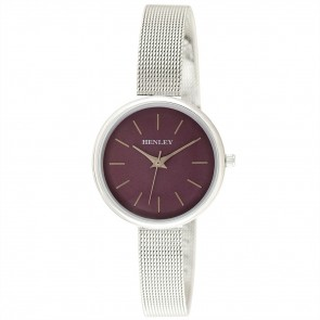 Women's Minimal Mesh Top-Loader Watch