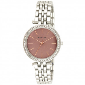 Rose Highlighted Diamante Watch