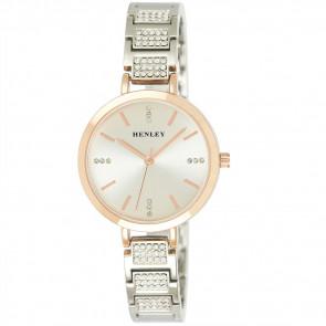 Diamante Bracelet Watch - Two Tone