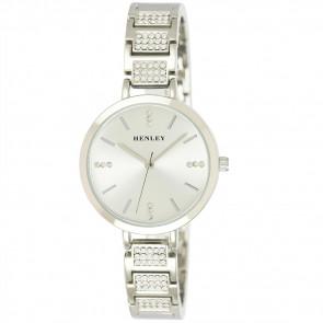 Diamante Bracelet Watch - Silver Tone
