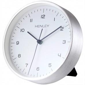 HENLEY Contemporary Mantel Clock - Chrome