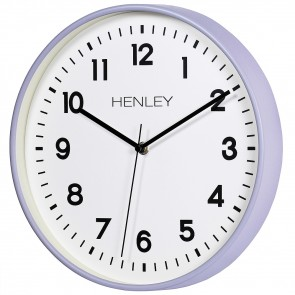 30cm Kitchen Wall Clock - Mid Grey