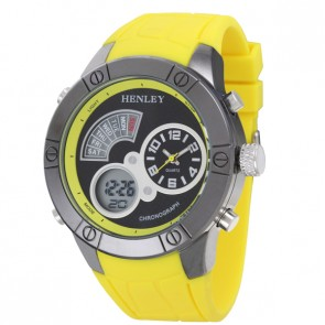 Henley Mens Fashion Ana-Digi Watch